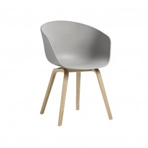 About a chair Concrete Grey