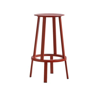 Hay Revolver bar stool barstol Black Red (NCS S 2570-Y80R) heigh hög